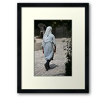Workhands Framed Print