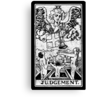 Judgment Tarot Card - Major Arcana - fortune telling - occult - Judgement Canvas Print