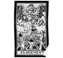 Judgment Tarot Card - Major Arcana - fortune telling - occult - Judgement Poster