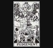 Judgment Tarot Card - Major Arcana - fortune telling - occult - Judgement by createdezign