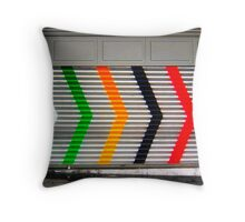 Six arrows Throw Pillow