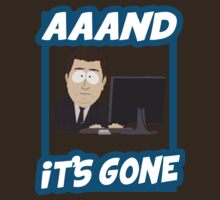 And it's gone - South Park T-Shirt