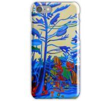 Lake Trip, Autumn iPhone Case/Skin