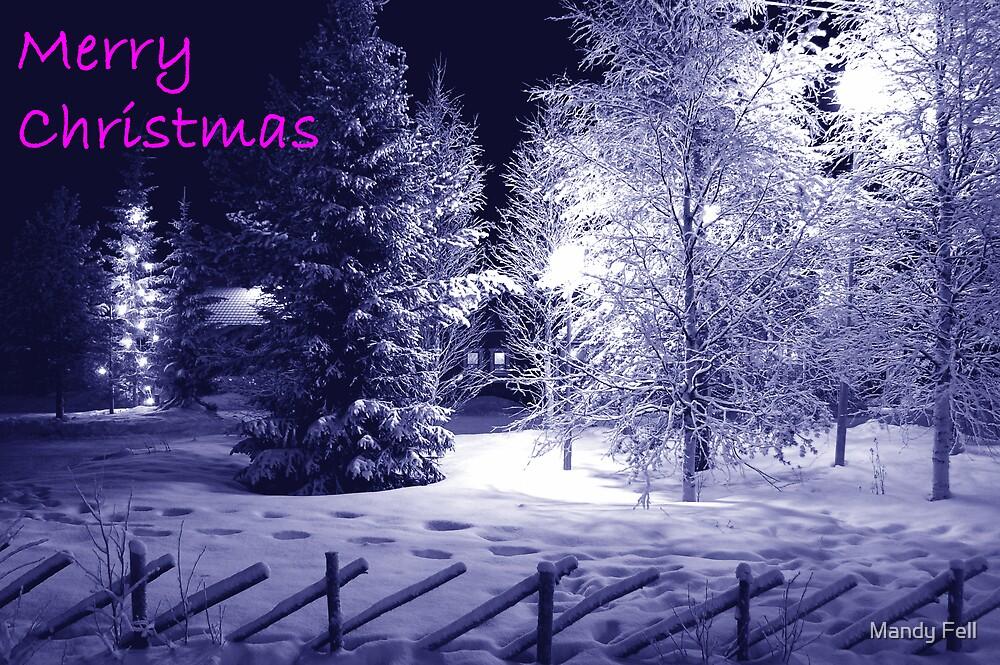 Blue Christmas by Mandy Fell
