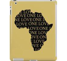 AFRICA ONE LOVE iPad Case/Skin