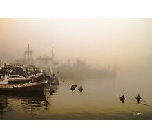 Port of shadows Photographic Print