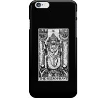 The Hierophant Tarot Card - Major Arcana - fortune telling - occult iPhone Case/Skin