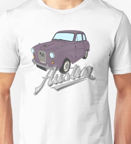 Austin A35 - Standard, Rose Taupe Unisex T-Shirt