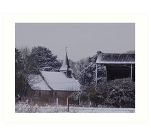 A Winter's Scene Art Print