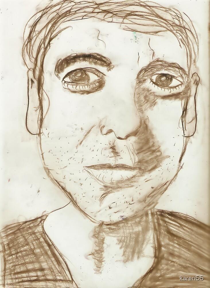 Portrait of George by karen66