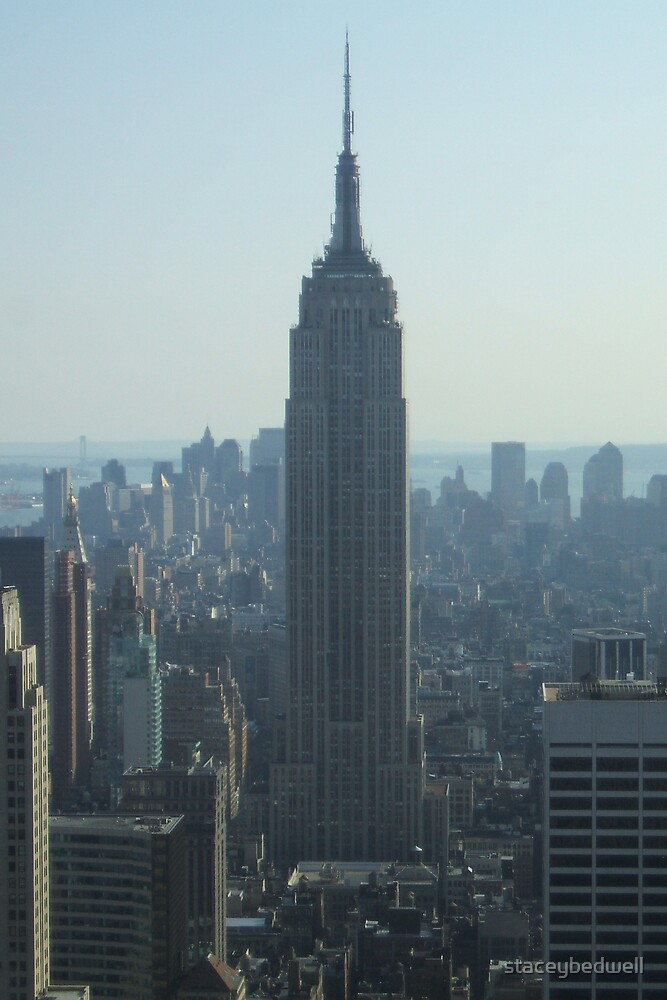 empire state building by staceybedwell