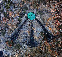 Copper Bolt Bench Mark  by Wrayzo