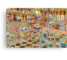 Psychedelic store Canvas Print