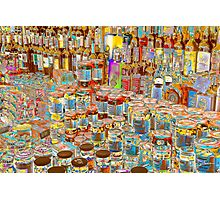 Psychedelic store Photographic Print