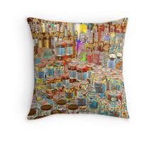 Psychedelic store Throw Pillow