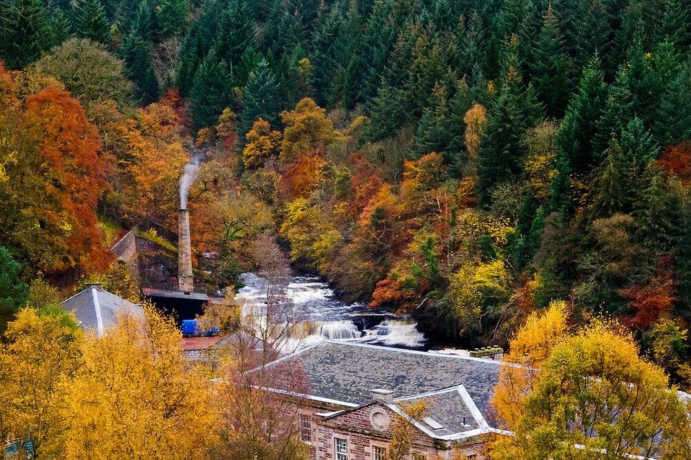 Falls of Clyde by Chris Clark