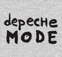 Depeche Mode : I Feel You font - black by Luc Lambert
