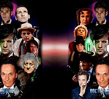 Dr. Who 50th Anniversary Standard and Tall mug design by Andrew Wells