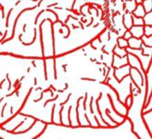 Maeshowe Dragon Orkney Sticker