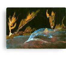 Weather Spirits - 011 - Mirror Mod 1 Canvas Print