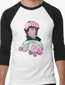 ♥ Sherlock ♥ Men's Baseball ¾ T-Shirt