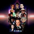 Dr Who 50th Anniversary Travel Mug design by Andrew Wells