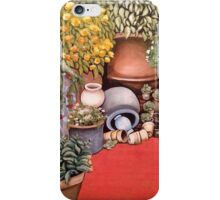 Potted Garden Paradise iPhone Case/Skin