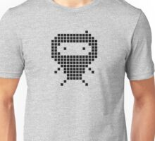 Ninja meets Space Invaders Unisex T-Shirt