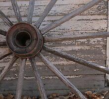 Rustic Wheel by Synevja