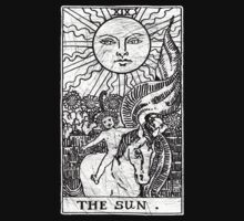 The Sun Tarot Card - Major Arcana - fortune telling - occult by createdezign