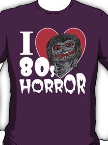 I Love 80s Horror T-Shirt