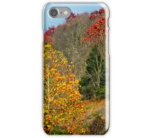 Autumn hillside iPhone Case/Skin