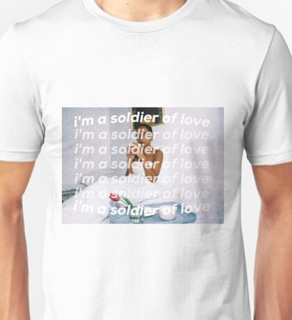 SOLDIER OF LOVE Unisex T-Shirt