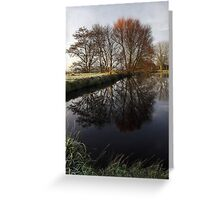 A Country Pond Greeting Card