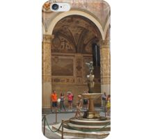 Palazzo Vecchio courtyard iPhone Case/Skin