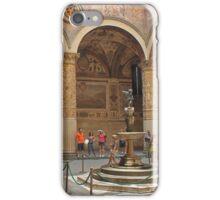 Palazzo Vecchio courtyard iPhone Case/Skin
