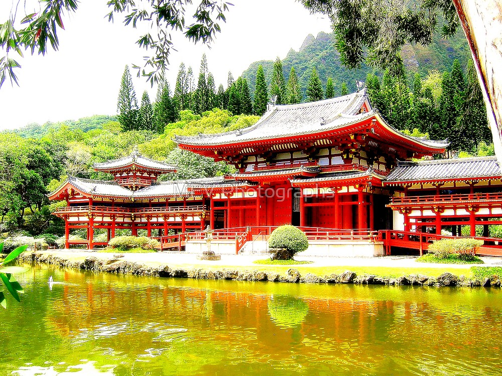 Byodo-In Temple by MEV Photographs