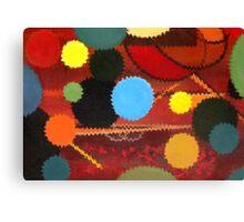 Circle Explosion Rework  Canvas Print