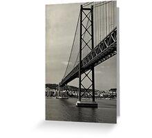Lisbon's Golden Gate  Greeting Card