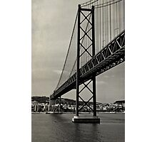 Lisbon's Golden Gate  Photographic Print