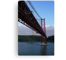 25 De Abril Bridge Canvas Print