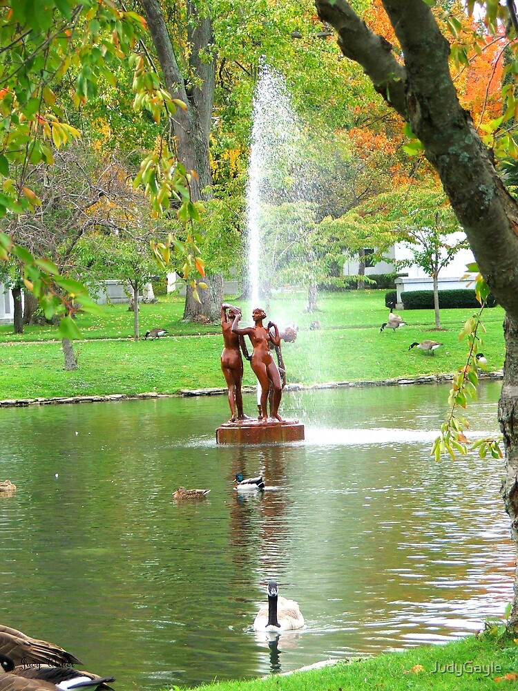The Fountain by Judy Gayle Waller