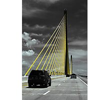 Sunshine Skyway Photographic Print
