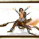 Dragon Rider by Heztia