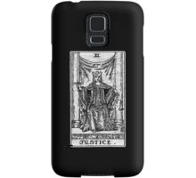 Justice Tarot Card - Major Arcana - fortune telling - occult Samsung Galaxy Case/Skin