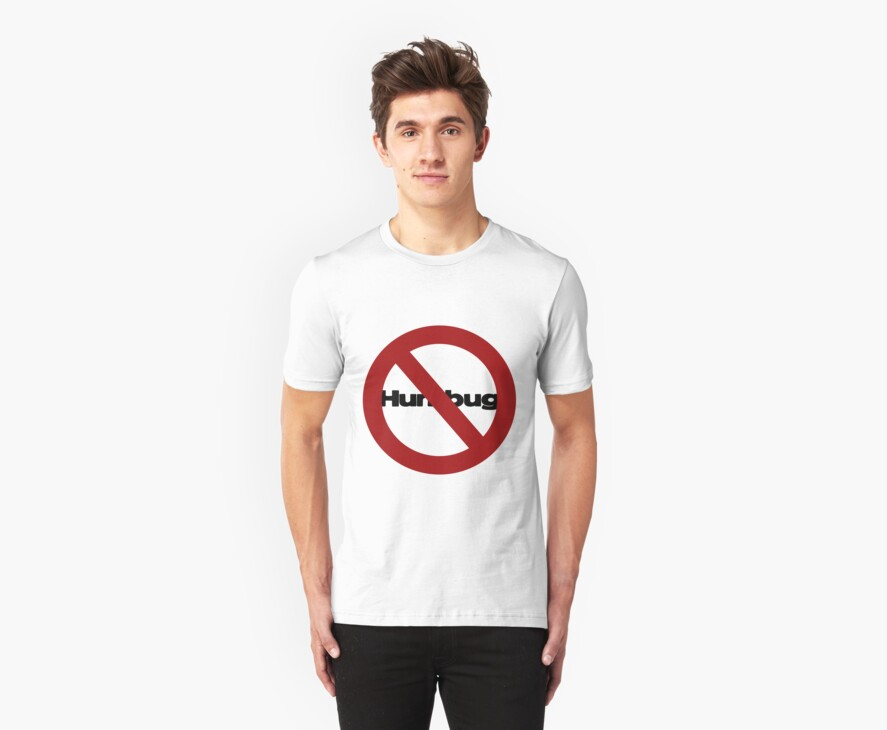 no humbugs tee by Catherine Crimmins