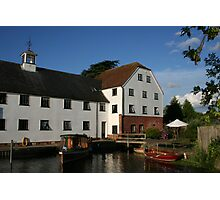old mill river Thames Photographic Print