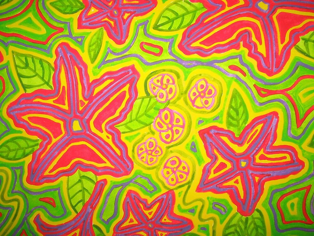 Fleurtation Closeup by Psychedelia