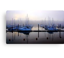 Misting Up Canvas Print
