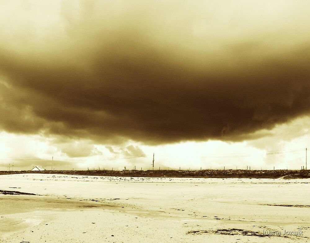 Falling sky by Iwona Jozwik